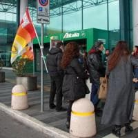 Roma, sciopero a Fiumicino: cancellati quattro voli