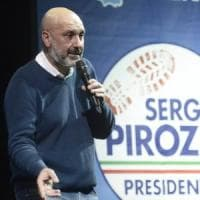 Lazio, minacce contro Pirozzi: