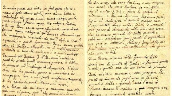 Roma, le ultime lettere prima del viaggio per Auschwitz