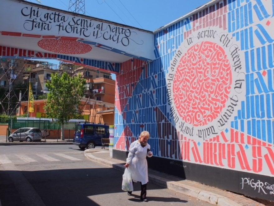 Un giorno da Trulli: viaggio nella street art della Roma che non ti aspetti