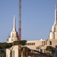 Roma, il grattacielo dei mormoni verso il taglio del nastro:
