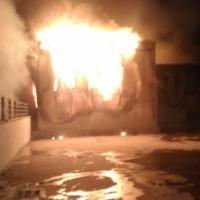 Roma, in fiamme ex fabbrica di penicillina. Sgomberate alcune case