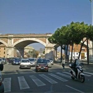 Roma, chiuso sottopasso Lungotevere Vaticano
