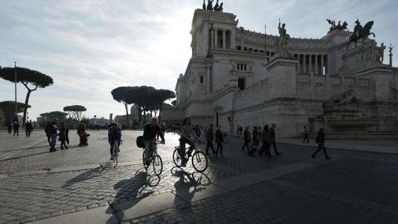 Roma, controlli e sanzioni per la domenica ecologica