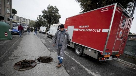 Roma, Colli Aniene: fuga di gas da condotta dopo lavori stradali
