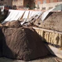 Roma, Balduina, un altro smottamento