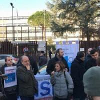 Roma, Processo Spada, sit-in per Angeli