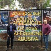 Roma, gaffe di De Vito su manifesto elettorale:
