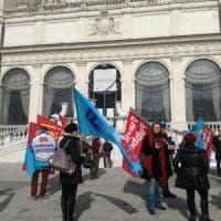 Roma, i dipendenti della Borghese: