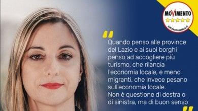 """Regionali, la linea dura di Lombardi  """"Più turisti e meno migranti"""""""