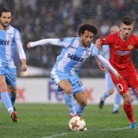Lazio, Anderson l'arma in più nello sprint Champions. E Parolo lo abbraccia: