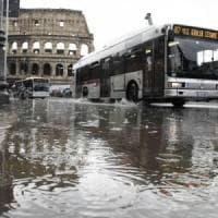 Maltempo a Roma, il Campidoglio: