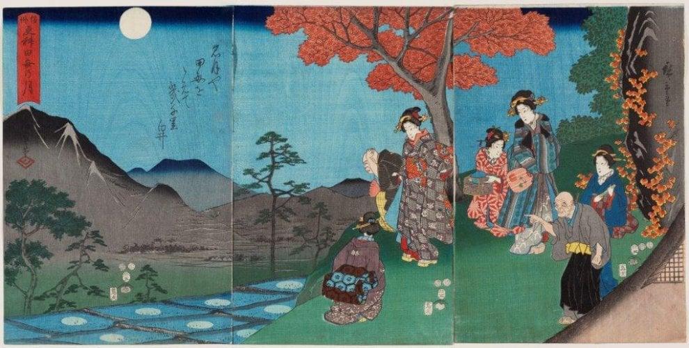 Roma, alle Scuderie del Quirinale visioni dal Giappone di Hiroshige