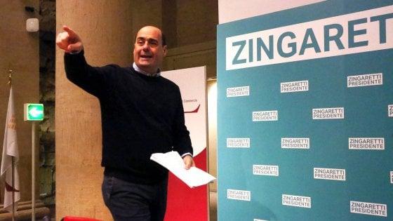 Regione Lazio, Zingaretti senza maggioranza e Pirozzi apre il giro di avance
