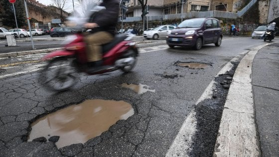 Superato il problema delle buche a Roma