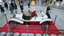 Una Lancia del 1912  esposta in Galleria Sordi