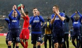 Europa League, Dinamo Kiev-Lazio 0-2: Leiva e De Vrij portano i biancocelesti ai quarti
