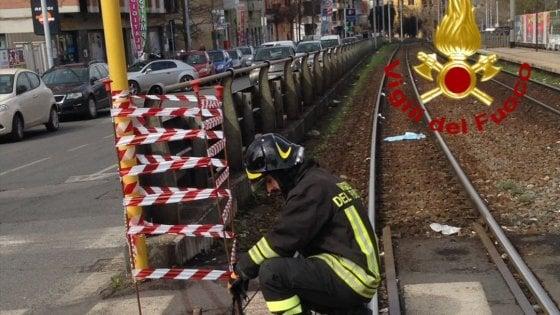 Fuga di gas sulla Casilina, interrotta la Roma-Centocelle