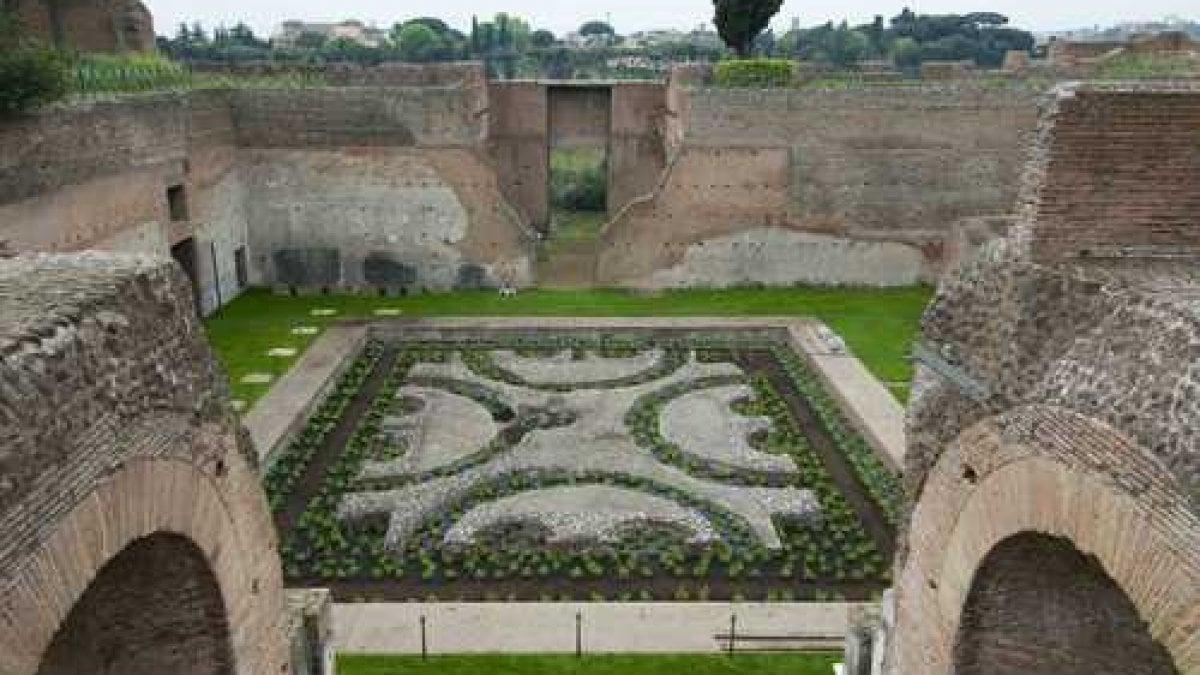 Roma al palatino riaprono dopo 30 anni i giardini farnese - Il giardino segreto roma ...