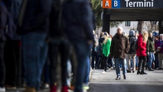 Sciopero del trasporto pubblico a Roma, chiusa la metro A. Aperta ztl, Chiusi anche uffici anagrafe