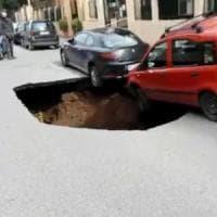 Voragine su circonvallazione Appia a Roma, il municipio: