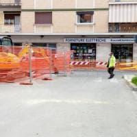Roma, voragine sotterranea alla Balduina: chiusa via Pereira