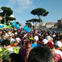 Maratona di Roma, le foto dei partecipanti su Twitter