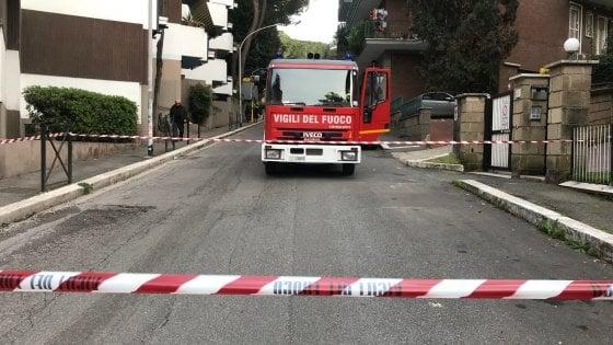 Roma, smottamento del terreno: chiusa via Fuggetta a Villa Bonelli