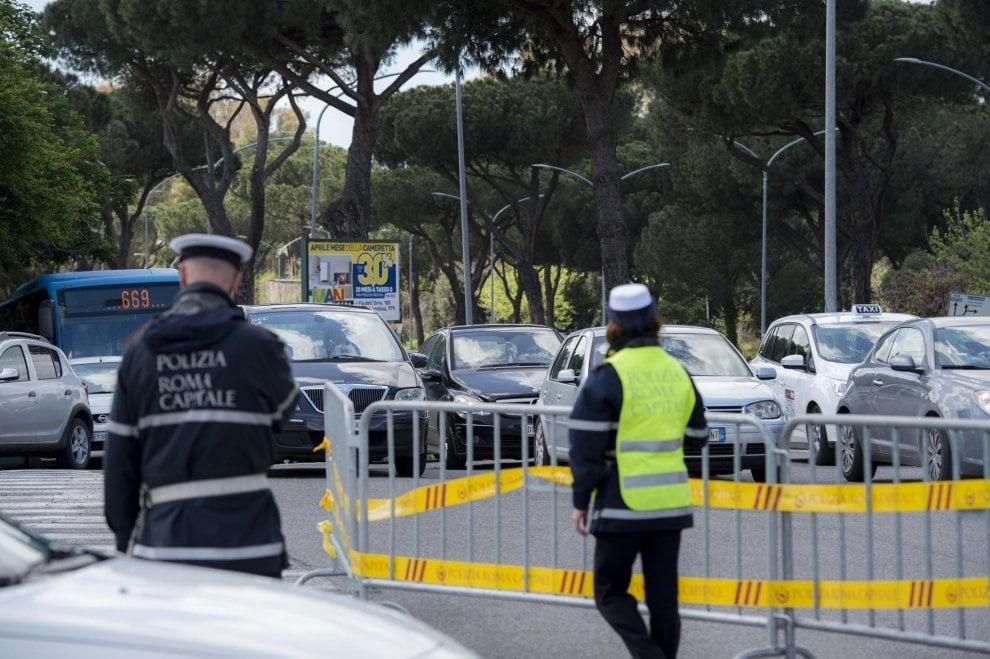 Formula E a Roma, al via le chiusure delle strade all'Eur