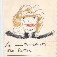 Le 'Fantastiche visioni' di Fellini: in mostra i bozzetti per il trucco e gli