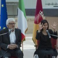 Natale di Roma, premiato Gigi Proietti in Campidoglio.