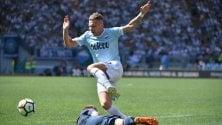 Lazio-Sampdoria 4-0 segui la  cronaca
