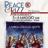 Roma, Emergency con jazz, teatro e lotteria ai Fori