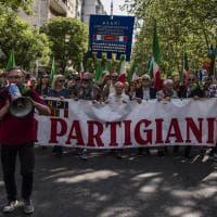 25 Aprile a Roma, in 15mila alla manifestazione dell'Anpi