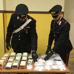 Roma, San Basilio, blitz antidroga dei carabinieri, 3 arresti