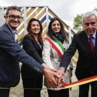 Roma, Raggi  inaugura nuovo playground al Parco delle Valli