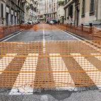 Roma, asfalto dissestato: via Nizza chiusa al traffico