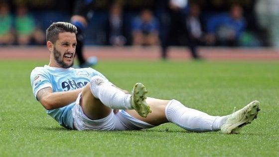 Lazio, stagione finita per Luis Alberto. Parolo e Immobile in campo contro l'Inter