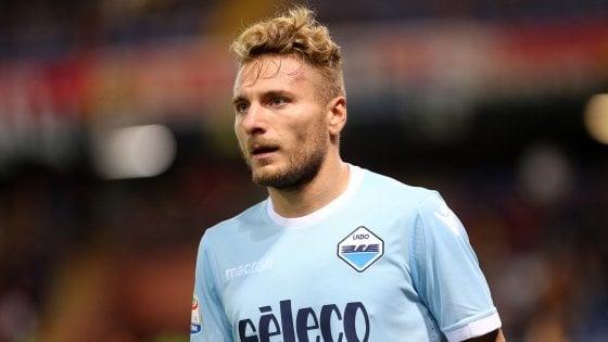Lazio, Immobile contro il tempo e il dolore: nello scontro diretto contro l'Inter ci sarà