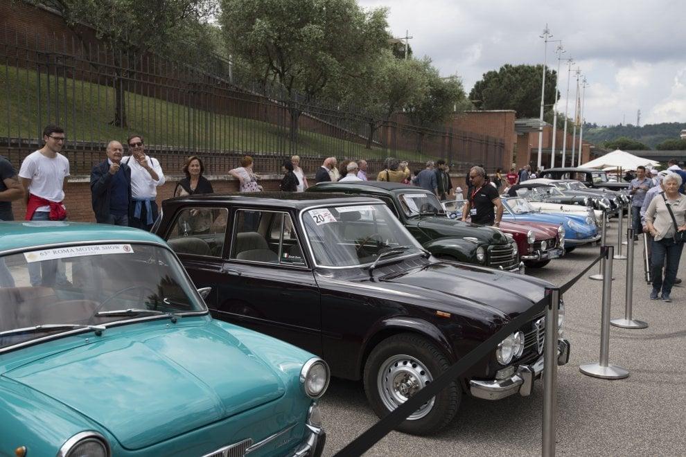 Al Parco della Musica lo spettacolo del Motor Show: le auto storiche