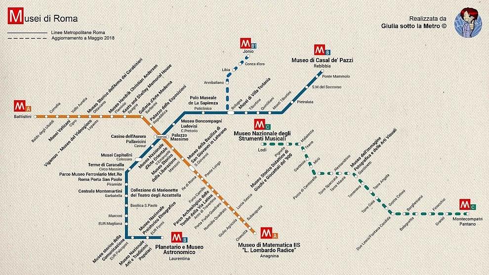 Notte dei musei, ecco la mappa per muoversi a Roma