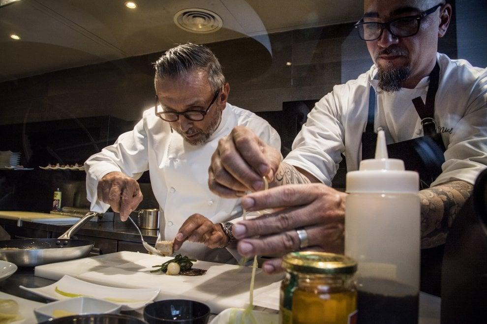Roma, un po' giapponese un po' emiliana: chef Barbieri firma otto piatti per Daruma