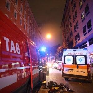 Roma, grosso incendio a Prati  nella sede della Cassa di previdenza forense. Nessun ferito