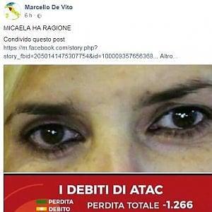 "Roma, De Vito si schiera con la sindacalista sospesa: ""Su Atac ha ragione Quintavalle"""