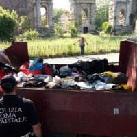 Roma, lotta all'abusivismo: sequestrati 10mila articoli falsi
