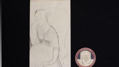 Roma, sequestrato un falso Modigliani: poteva fruttare un milione di euro