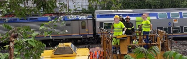 Roma, albero caduto su rete ferroviaria tra Ostiense e Tuscolana: ritardi e cancellazioni