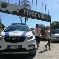 Roma, controlli municipale al Camping River, liberati dieci moduli