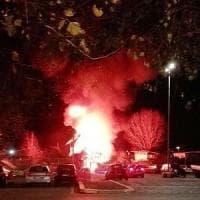 Roma, aveva appena dato alle fiamme 8 cassonetti: arrestato un 24enne