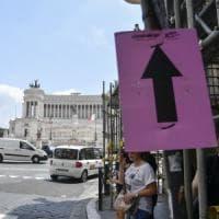 Roma saluta l'arrivo del Giro d'Italia: ecco strade chiuse e deviazioni